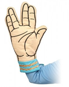 Star Trek Spock Oven Mitt - Live Long And Don't Burn Your Hands_large_image_attachment