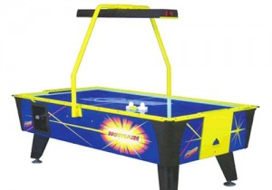Valley-Dynamo Hot Flash 2 8 Foot Air Hockey Table_large_image_attachment