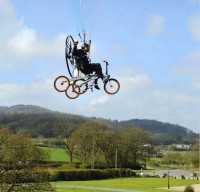 The First Flying Bicycle 3