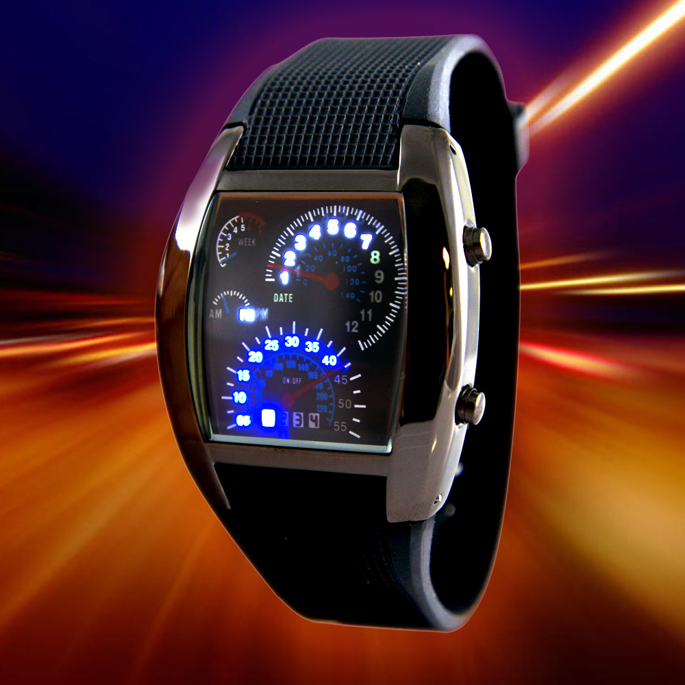 Speedometer Car Watch