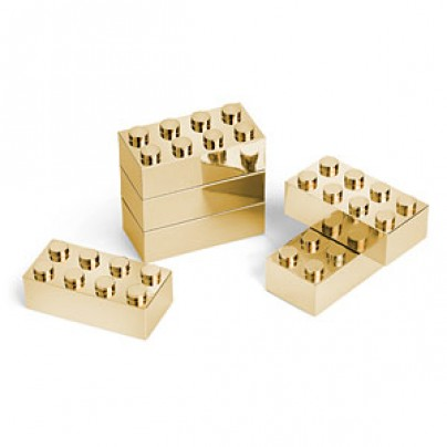 Bling Bling Building Brick Set (Gold)