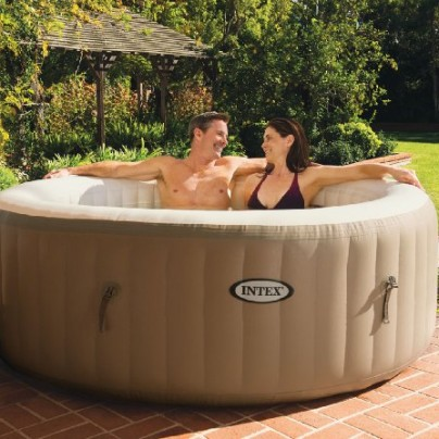 Bubble Therapy Inflatable Portable Hot Tub Spa