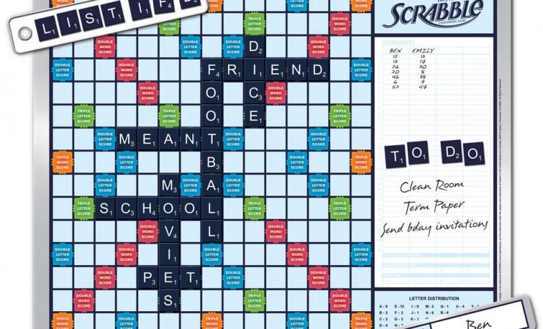The Walk By Scrabble Board Unusualgadgets4u