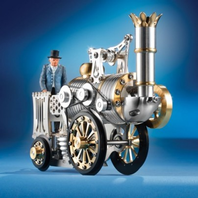 Stephenson's Rocket Stirling Engine
